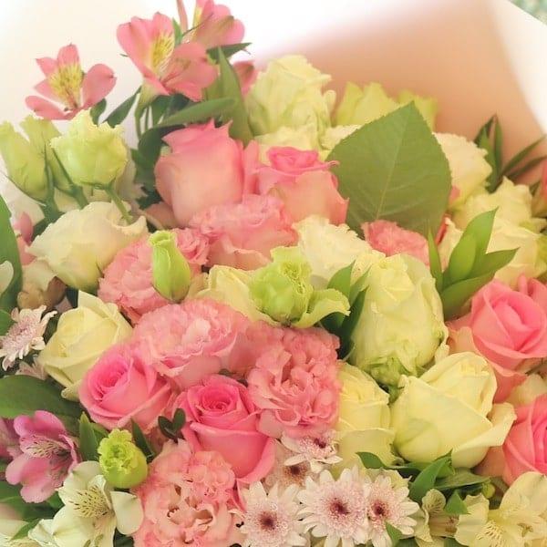 Pink Light Flower Bouquet (Super) - Flower Gift Korea - 330+ 5 Star ...