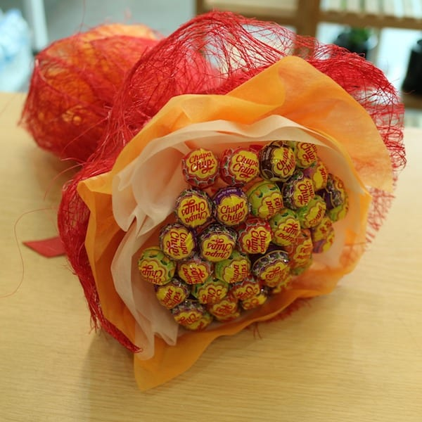 Candy Bouquet A - Flower Gift Korea - 330+ 5 Star Reviews, Same Day ...