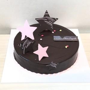 Flower Gift Korea Chocolate Cake Medium 40