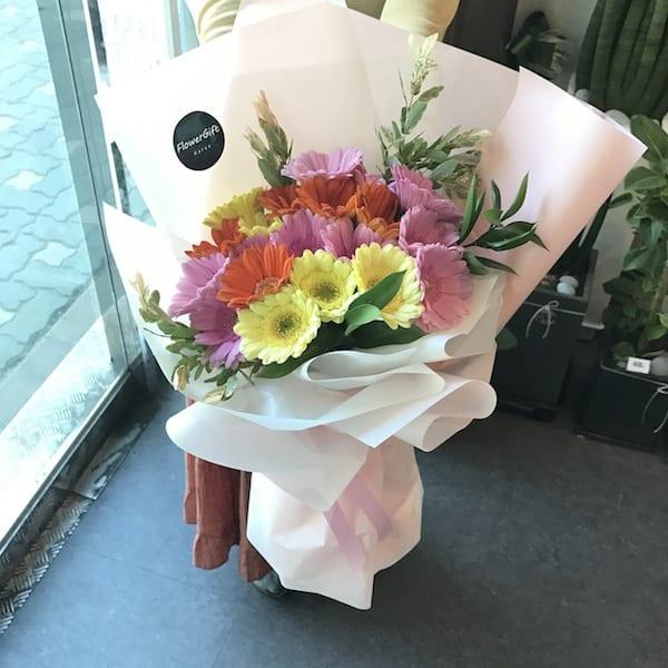Mixed Gerbera Bouquet - Flower Gift Korea - 330+ 5 Star Reviews ...