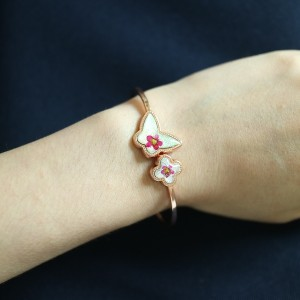 Flower Shop Seoul Bracelet Art Design on Arm D