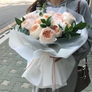 Flower Shop Seoul Garden Rose Bouquet Delivery