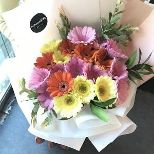 Flower Shop Seoul Mixed Gerbera Bouquet 1