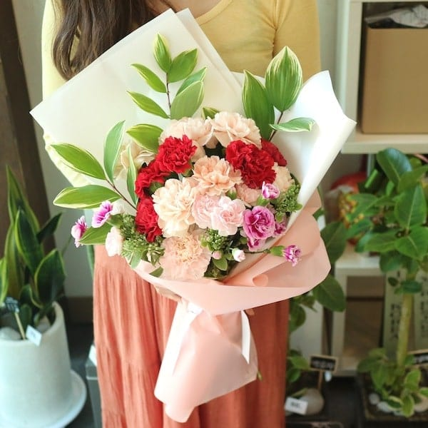 Mixed Carnation Bouquet Flower Seoul Korea Delivery