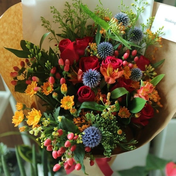 Dangerous Love Flower Bouquet - Flower Gift Korea - 350+ 5 Star ...