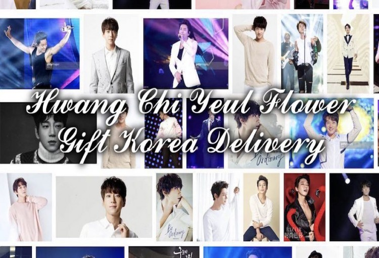 Hwang Chi Yeul Flower Gift Korea Delivery