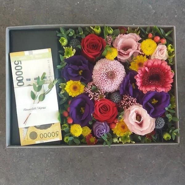 FGK\'s Money Flower Box - Flower Gift Korea - 330+ 5 Star Reviews ...