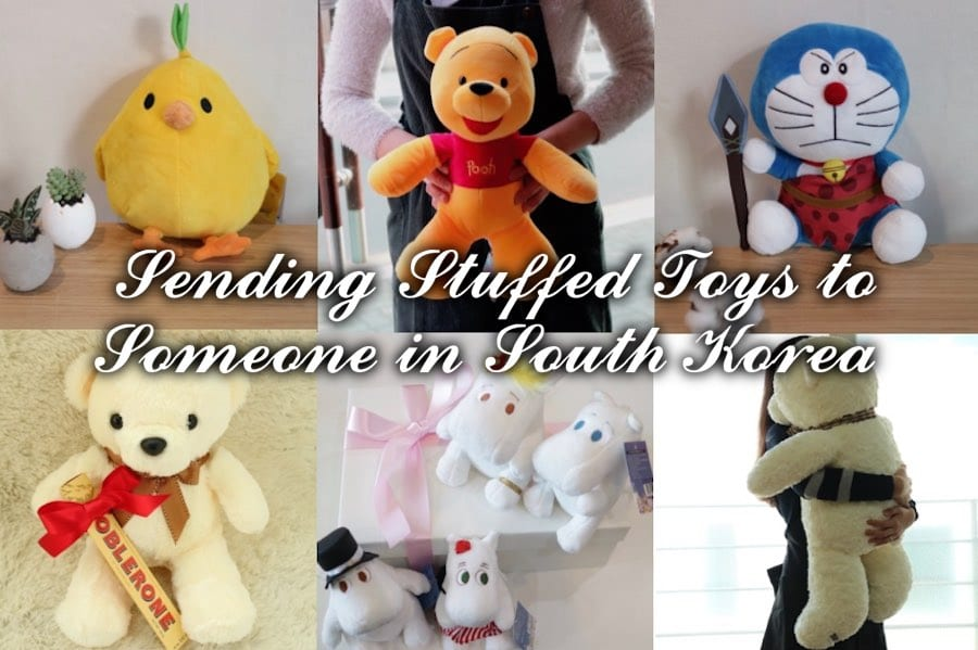 Sending Stuffed toys to Seoul South Korea